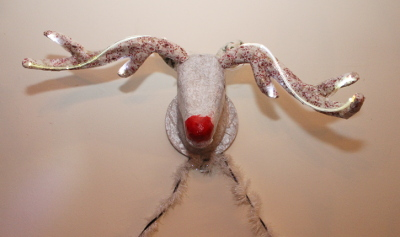 Talking Reindeer - Raspberry Pi powered interactive Christmas decoration