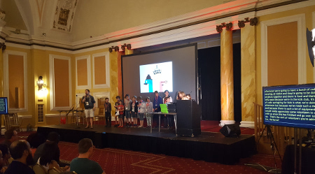 Pycon UK 2016 - kids lightning talks