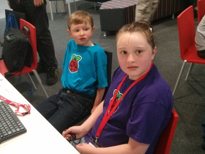 PyconUK education day - kids learning programming