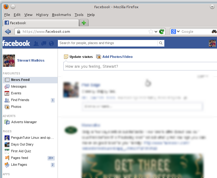 Accessing Facebook social network site through the kidsafe Internet proxy