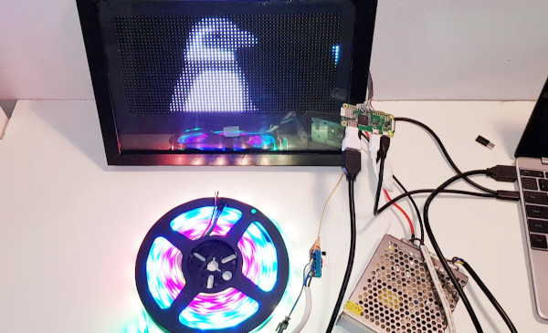 RGB LED Matrix and Neopixels