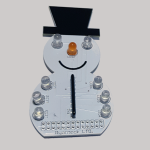 Snowman LED sequence